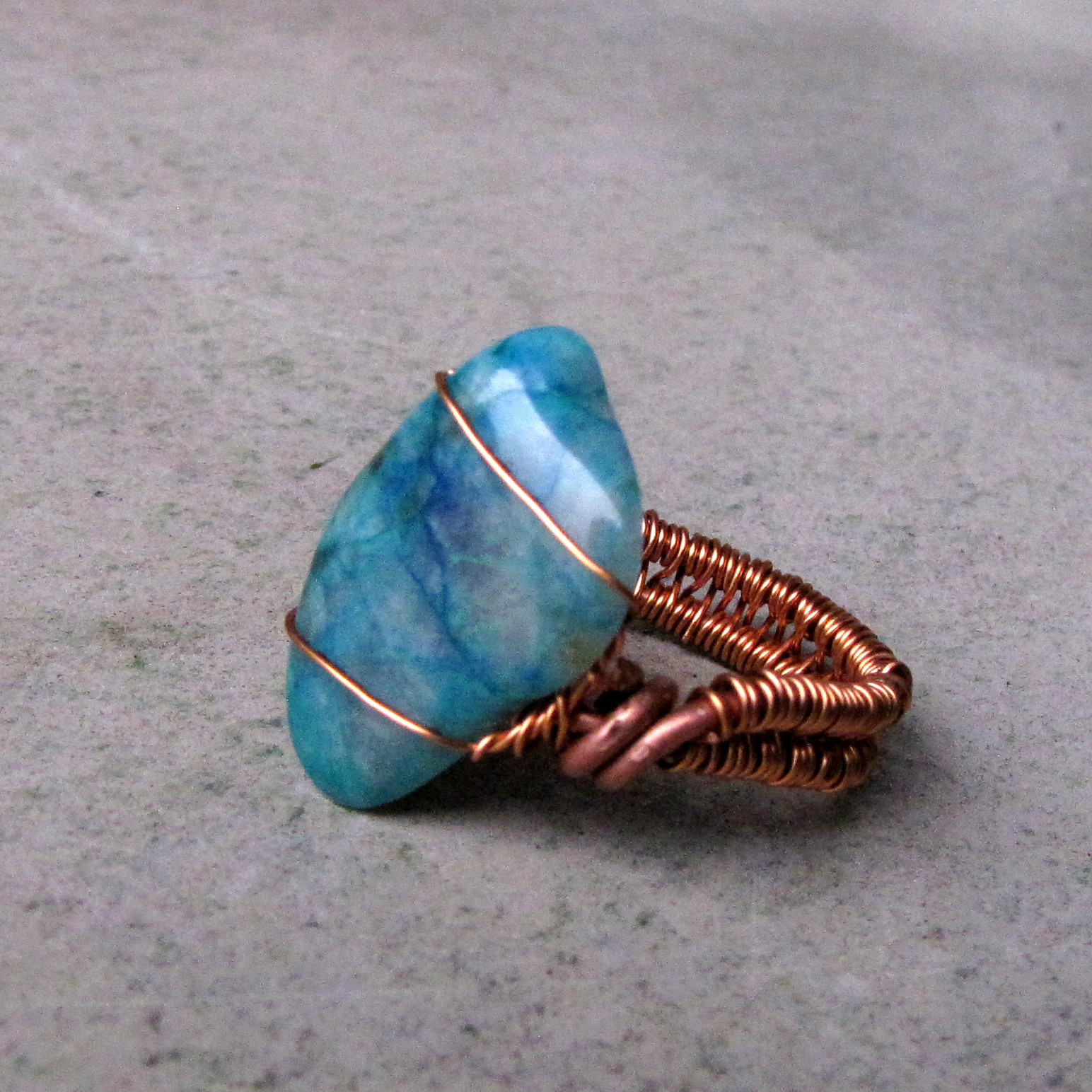 Gem Seilica ring (gifted to Röschen)